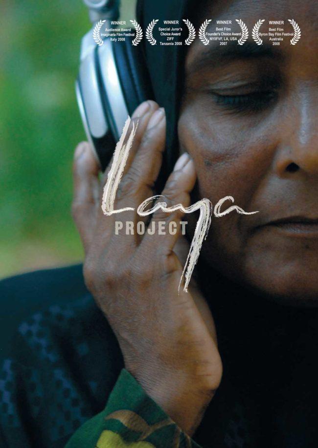 Cover Laya Project indigene Frau mit Kopfhörer